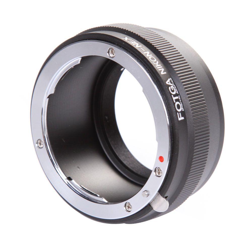 Fotga Digital Lens Adapter Ring for Nikon Lens to NEX E Mount Adapter NEX-7 NEX-5 NEX-3 NEX-VG10 offer OEM