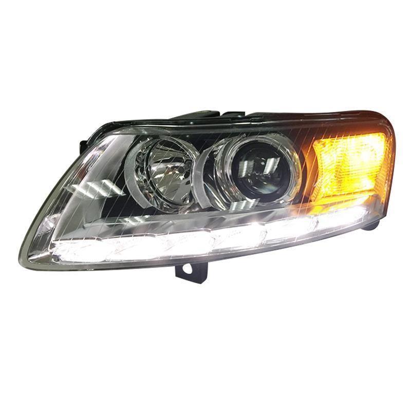Neblineros Para Außen Tagfahrlicht Montage Cob Drl Led Auto Assessoires Auto Beleuchtung Scheinwerfer Hinten Lichter Für Audi A6l