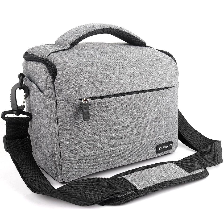 DSLR sacoche d'appareil Photo De Mode Polyester sac à bandoulière Camera Case Pour Canon Nikon Sony étui objectif Sac Étanche Photographie Photo Sac