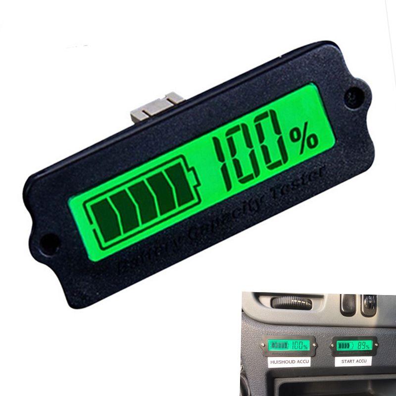 12 V LY6W Bleibatterie Kapazität Anzeige LCD Digitalanzeige Meter LiPo Batterie Kapazität Power Erkennung Tester Voltmeter