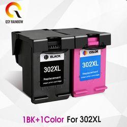 CMJN 302XL remanufactured Cartouche de Remplacement pour HP 302 HP302 XL Cartouche D'encre pour Deskjet 1110 1111 1112 2130 2131 imprimante