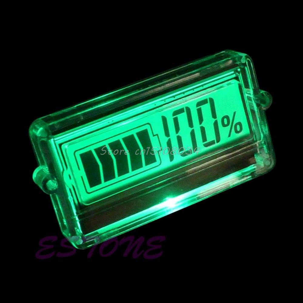 Batteriekapazität Tester Anzeige 12 V 24 v 48 v auto blei-säure-batterien lithium-S08 Drop ship