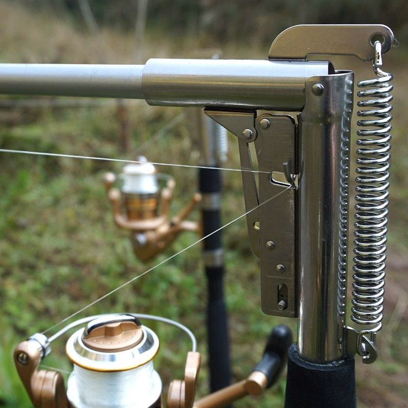 Canne à pêche automatique haute qualité pôle poisson 1.8 M 2.1 m 2.4 m 2.7 m mer rivière lac en acier inoxydable canne à pêche filature télescopique