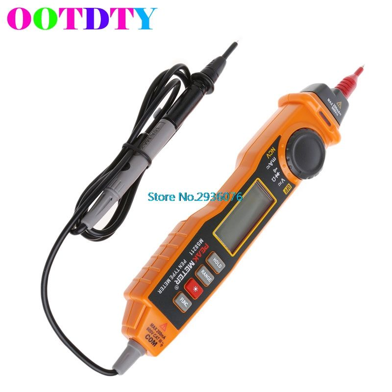 Digital Display Multimeter With Probe AC/DC Electric Handheld Tester Multitesters With Retail Bag