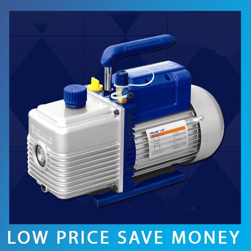 Heißer Verkauf 7.2m3/H Kleine Tragbare Zentrale Klimaanlagen Dreh Klinge 2 Liter Vakuumpumpe