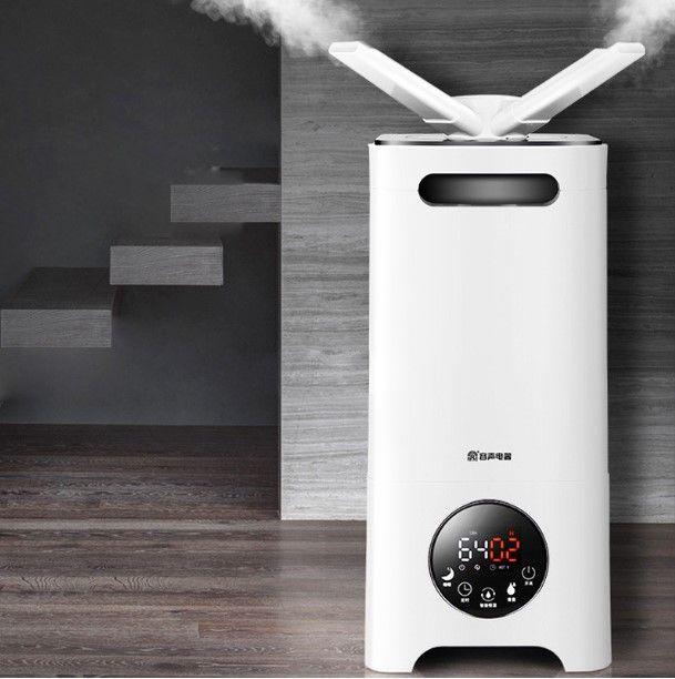 LK165 Geräuscharm Luft Nebel-luftbefeuchter 13L/D Alle Richtung Düse Aktivkohle Luftbefeuchter Supermarkt Gemüse Frischer