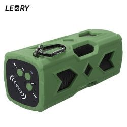 LEORY Wireless Bluetooth Speaker Portable NFC Waterproof Outdoor Speaker 3600mAh Bluetooth Subwoofer Power Bank for Smartphones