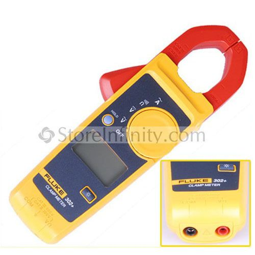 Free Shipping Fluke 302+ Digital Clamp Meter AC/DC Multimeter Tester Fast shipping