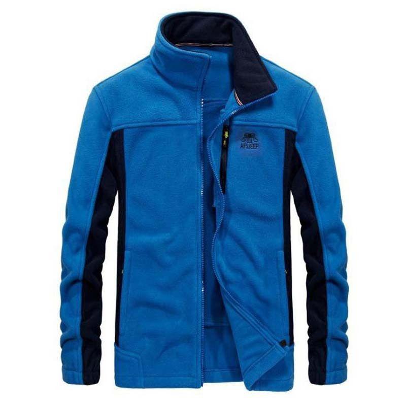 Thicken Fleeces Coat Men's Thick Polar Fleece Jacket Wniter Loose Outwear Man Male outer garment Tops Menfolk