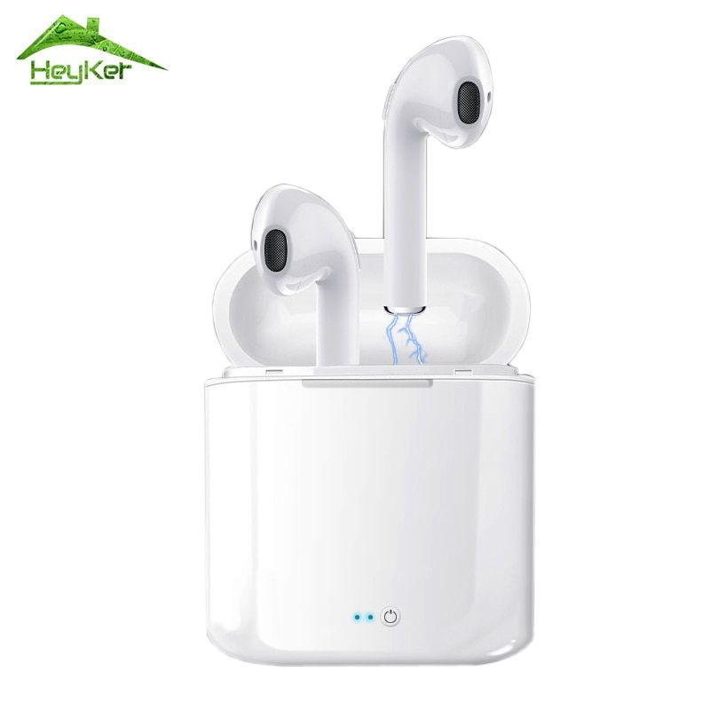 Audifonos I7s Tws Bluetooth Earbuds Wireless Headphones Headset Stereo In-ear Earphone With Charging Box Kulaklik fone sem fio