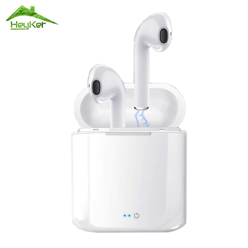 Audifonos I7s Tws Bluetooth Earbuds Wireless Headphones Headset Stereo In-ear Earphones With Charging Box Kulaklik fone sem fio