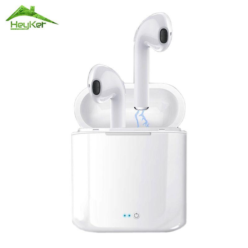 Audifonos i7s Tws écouteurs bluetooth casque audio sans fil Casque Stéréo écouteurs intra-auriculaires Avec Boîte De Charge pour iPhone et Android