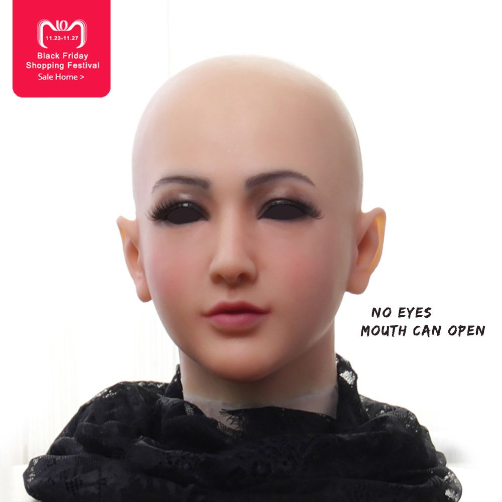 EYUNG new listing Claire Goddess Top masquerade silicone female crossdresser face drag queen shemale fake breasts boobs ladyboy