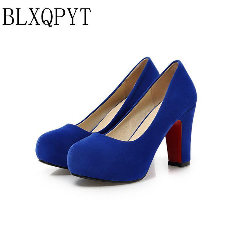 2017 Limited Zapatos Mujer Tacon chaussures grande taille 34-43 couleur nouveau printemps automne femmes pompes femmes chaussures à talons hauts Pu A35-1