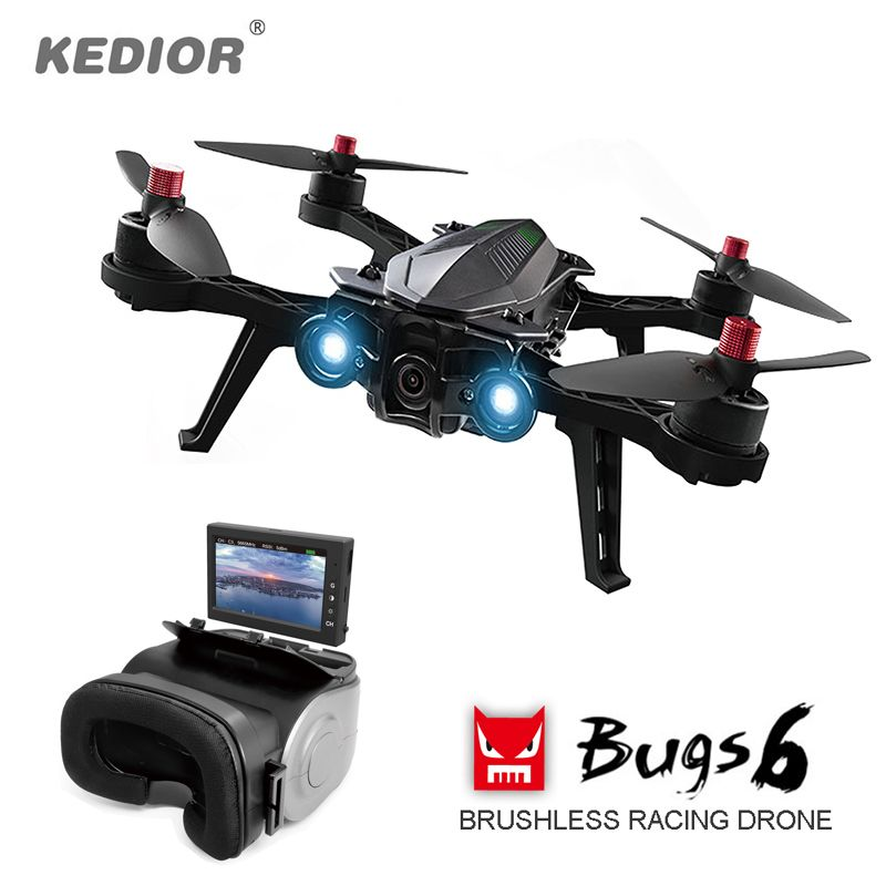 Remote Helicopter Professional Drone with Camera HD Live Video 5.8G FPV Quadcopter Brushless Multicopter RTF