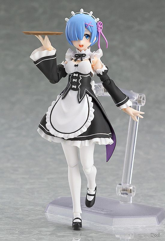 Anime Re:Life in a different world from <font><b>zero</b></font> Rem Figma 346 PVC Action Figure Collectible Model Toys Doll 13cm