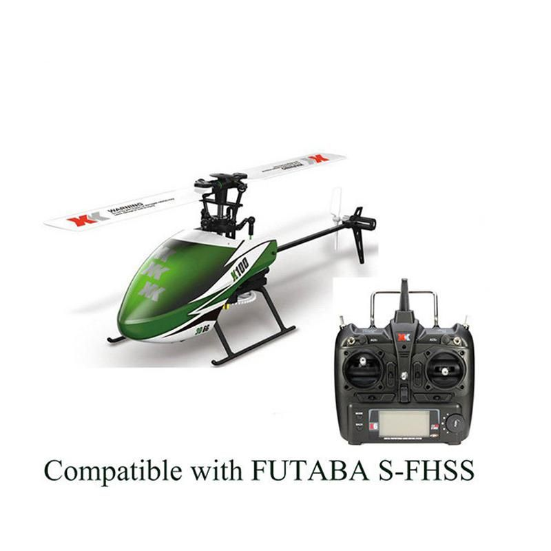LeadingStar XK K100 6CH 3D 6G System Brushless Motor RC Helicopter