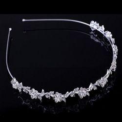 Hoops rambut bunga kepala pengantin headband