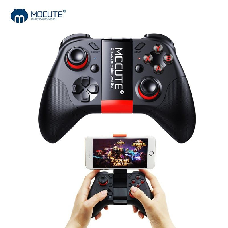 Mocute 054 Bluetooth Gamepad Mobile Joypad Android <font><b>Joystick</b></font> Wireless VR Controller Smartphone Tablet PC Phone Smart TV Game Pad