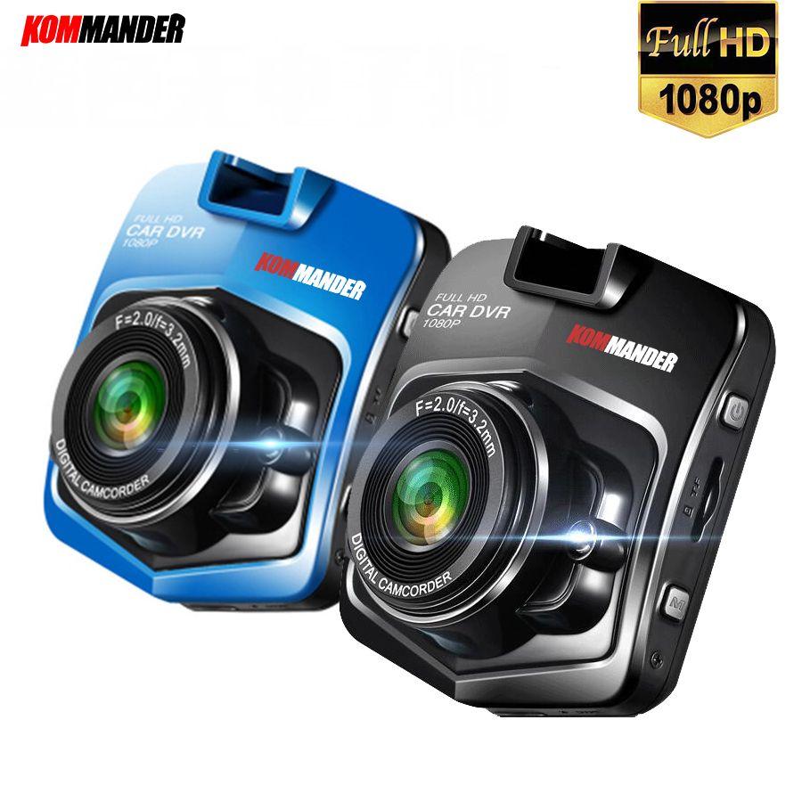 Kommander C1 Mini Car DVR Camera Recorders Full HD 1080P Black box Car <font><b>Dash</b></font> Camera Recorders Video Recorder Night Vision