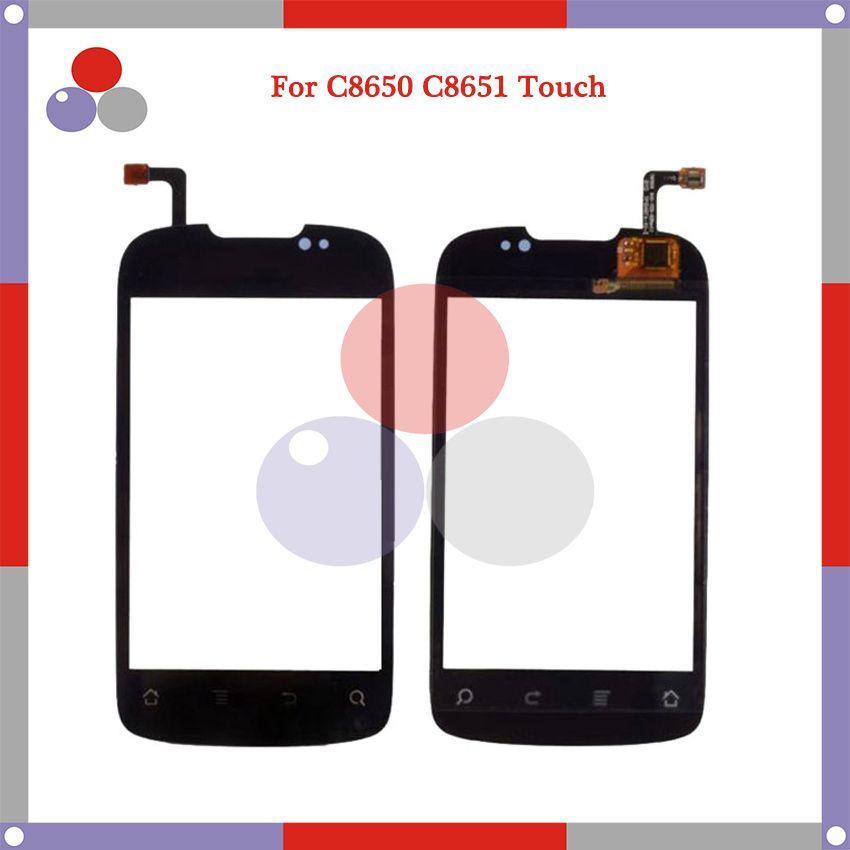 10pcs/lotHigh Quali For Huawei Ascend ll 2 8650 C8650 C8651 M860 M865 C8660 touch Screen Panel Sensor Digitizer Outer Glass Lens