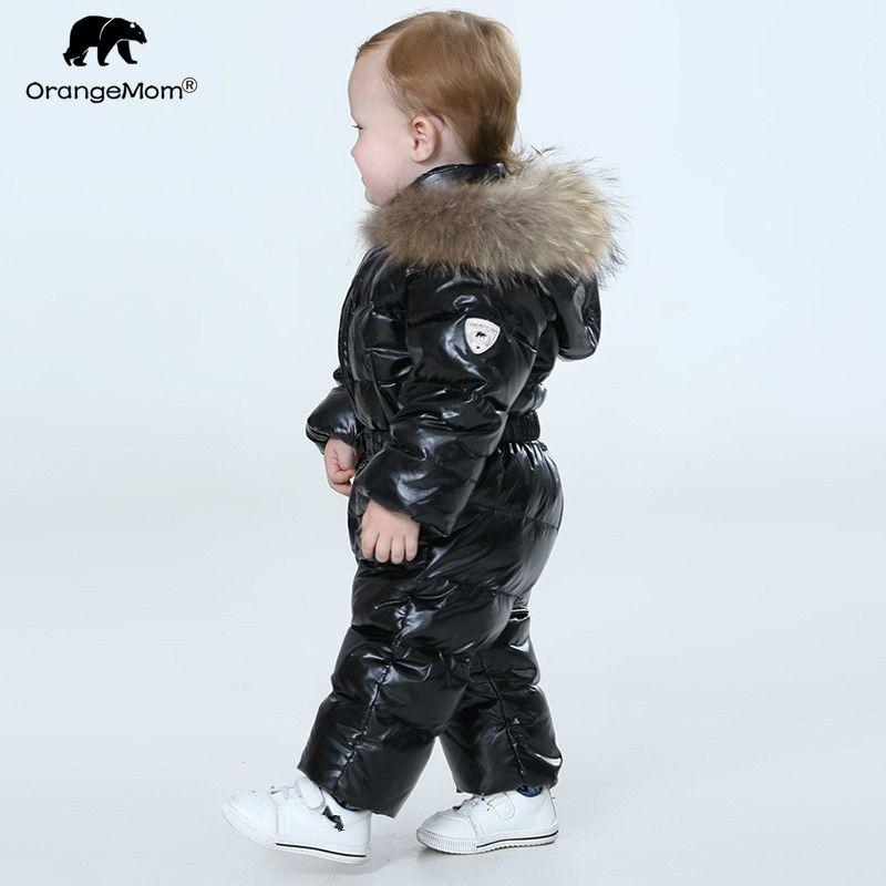 Orangemom boutique officielle bébé d'hiver salopette, chaud manteaux veste pour les filles, bébé vêtements garçons parka neige porter