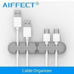 AIFFECT Silikon Kabel Wickler Stecker Halter Kabel Veranstalter Kabel Management Schreibtisch Draht Lagerung Gerät Schreibtisch Draht Veranstalter