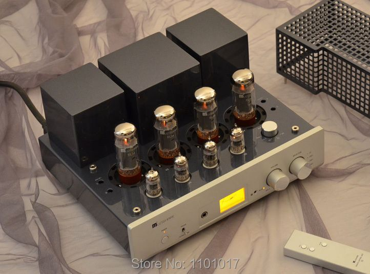 MUZISHARE X5 push-pull tube amplifier HIFI EXQUIS handmade scaffolding integrated lamp amp MZSX5