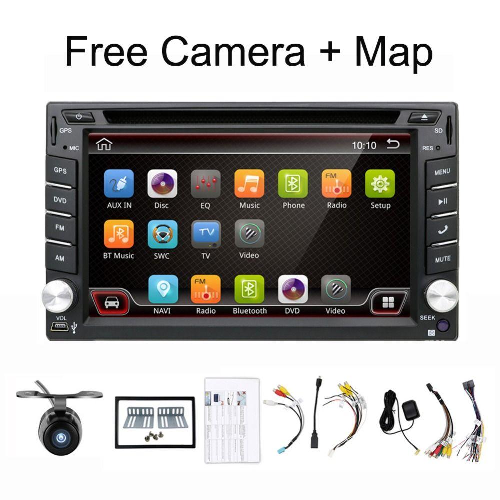 Quad Core 2 Din Android 7.1 Fit for NISSAN QASHQAI Tiida Car Audio Stereo Radio GPS TV 3G WiFi dvd automotivo Universal RAM 2G