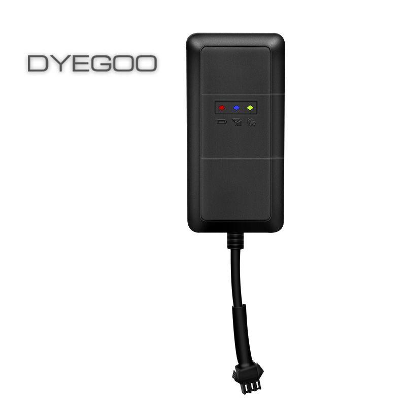 DYEGOO 4 bande voiture gps tracker TK110 Google lien fonction de coupe à l'huile haute vitesse plate-forme livraison gratuite
