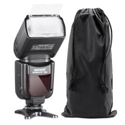 Neewer 750II TTL Flash Speedlite with LCD Display for Nikon D7200 D7100 D7000 D5500 D5300 D5200 D5100 D5000 and Other Nikon DSLR