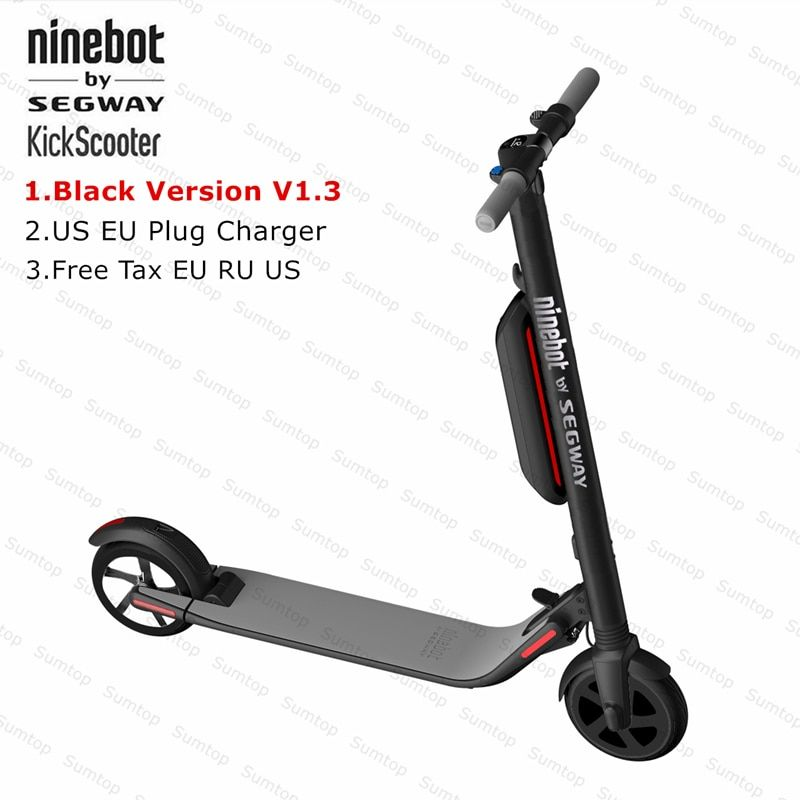 New Ninebot KickScooter ES4/ES2 Smart Electric Kick Scooter V1.3 Foldable Lightweight Electric Hover Board Skateboard With APP