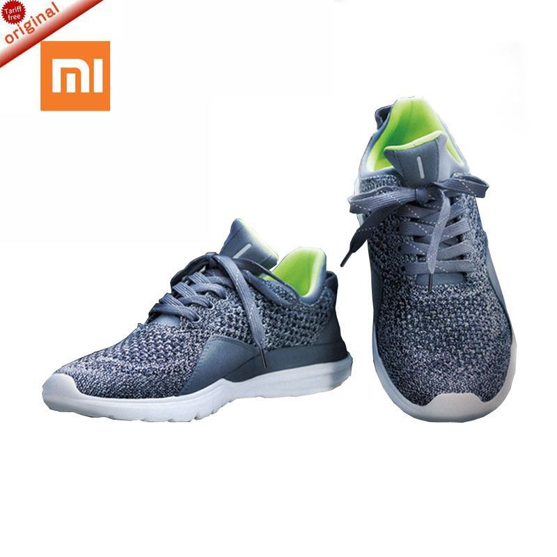 xiaomi 2018 Original FreeTie Xiaomi Smart Bluetooth 4.0 English APP Comfortable Upper And Durable Sole <font><b>Running</b></font> Sneakers Shoes