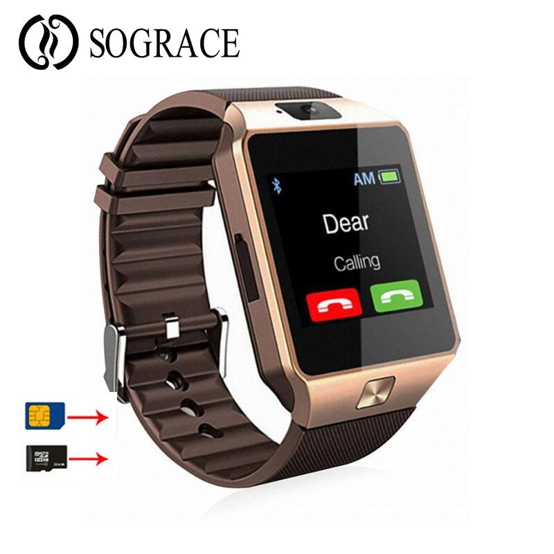 Bluetooth DZ09 Montre Smart Watch Avec Caméra Facebook Whatsapp Twitter Sync SMS Smartwatch Soutien SIM TF Carte Pour IOS Android PK q18