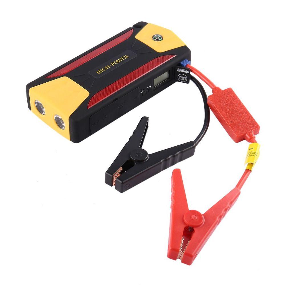 Новый 82800 мАч Портативный автомобиля Пусковые устройства Батарея усилитель с USB Запасные Аккумуляторы для телефонов светодиодный фонарик д...