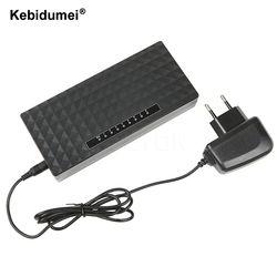 Kebidumei 8 Port Réseau Gigabit Commutateur 10/100/1000 Mbps Fast Ethernet Commutateur Lan Hub Plein/Demi duplex Échange