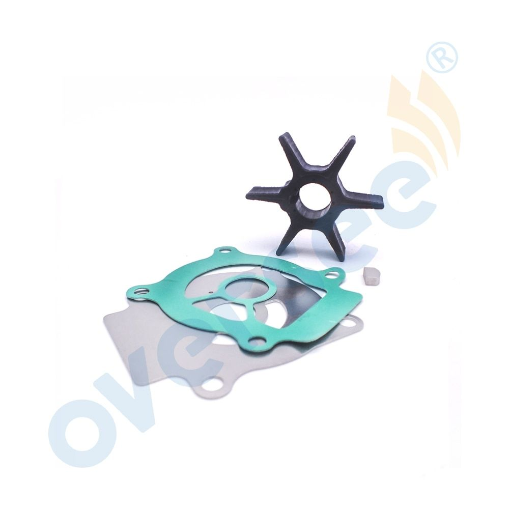 17400-96353 New Water Pump Impeller Service Kit for Suzuki Outboard DT20/25/35/40 18-3242
