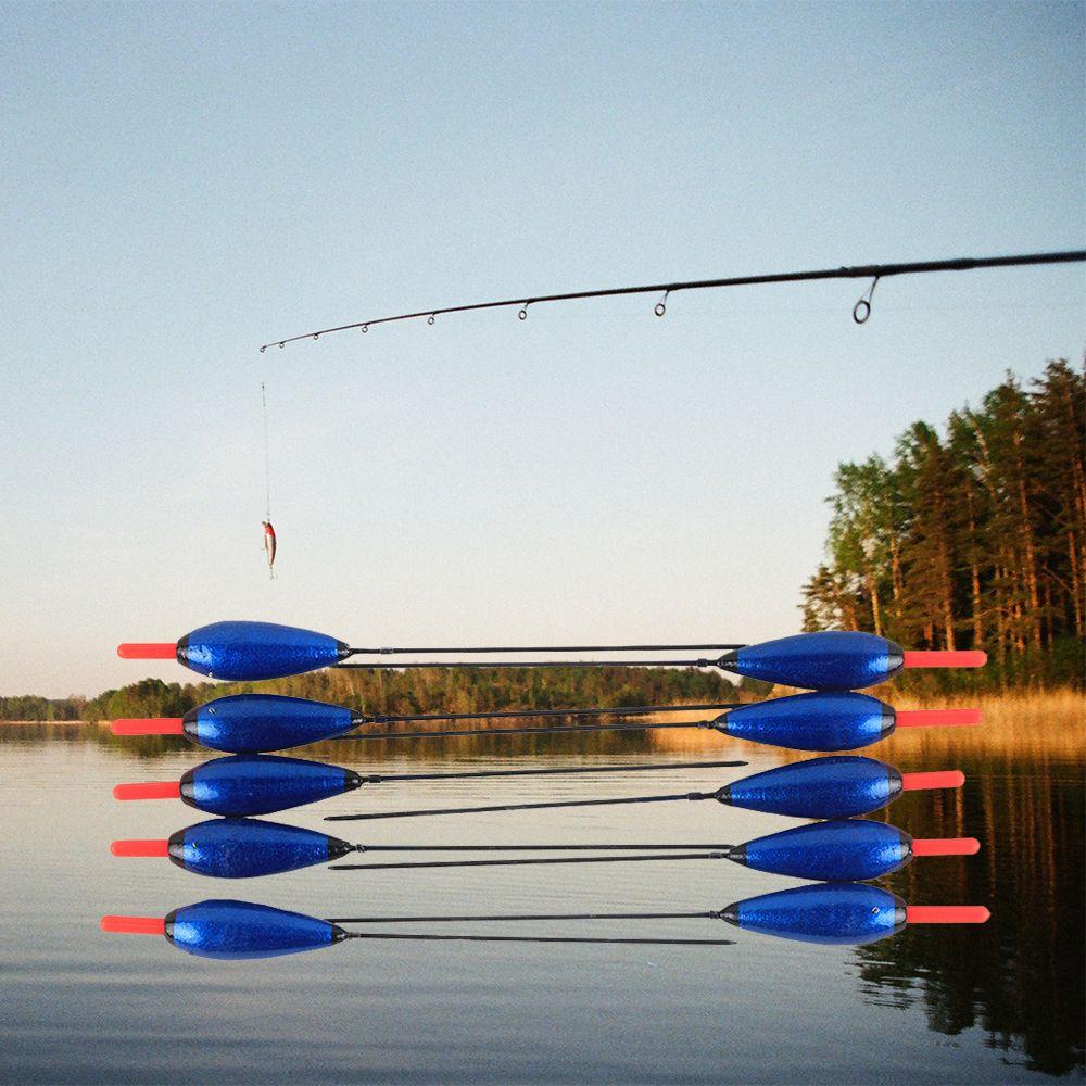 10 teile/los Fischen Schwimmen Cork Kunststoff Bobbers Boje 2,5g/16,5 cm Pesca Angelgerät Zubehör