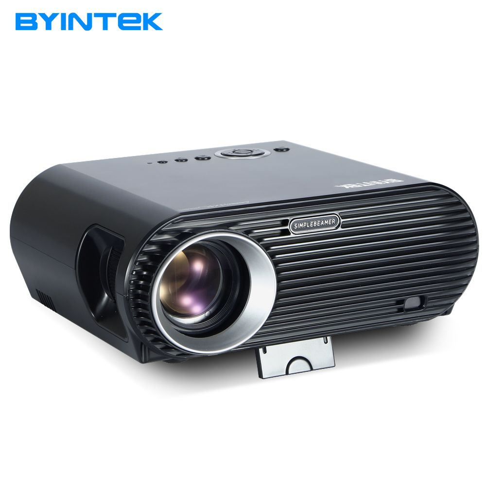 BYINTEK MOON BL127 New Design 720P 1080P Movie Cinema USB HDMI fulL hD VGA Home Theater Projector Kids video projectors