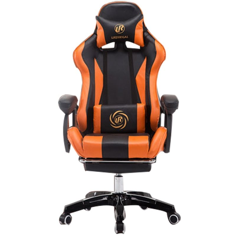 boss chair/office/High density inflatable sponge/ can lie down /360 degrees can be rotated/computer chair