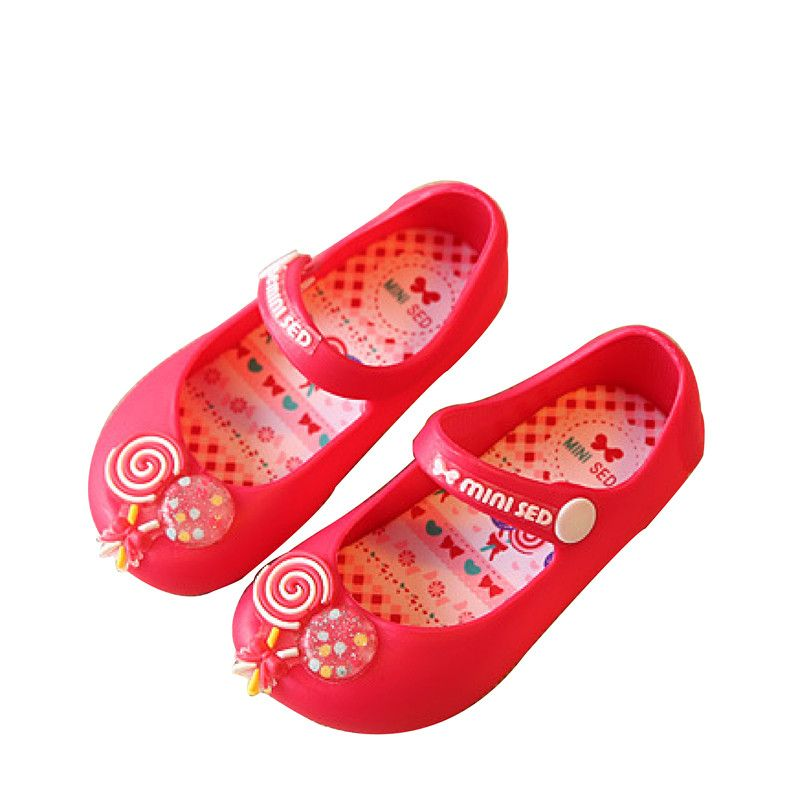 Новинка 2017 детская обувь детские сандалии желе Мультфильм класса для отдыха сандалии