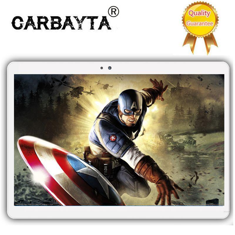 Dhl-freies Verschiffen Android 7.0 10,1 zoll MT6797 K109 tablet pc 10 Kern 4 GB RAM 64 GB ROM 1920x1200 IPS 4G LTE Geschenk tabletter