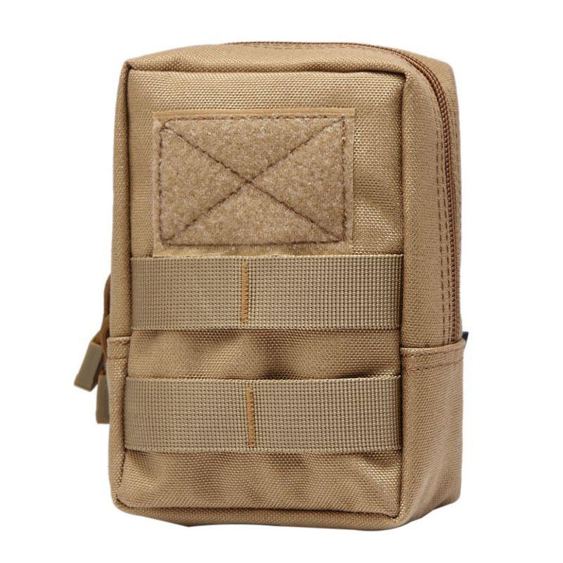 Taktische Molle Tasche 600D Nylon Pouch Tragbare Outdoor Handy Brieftasche Reise Military Sport Hüfttasche