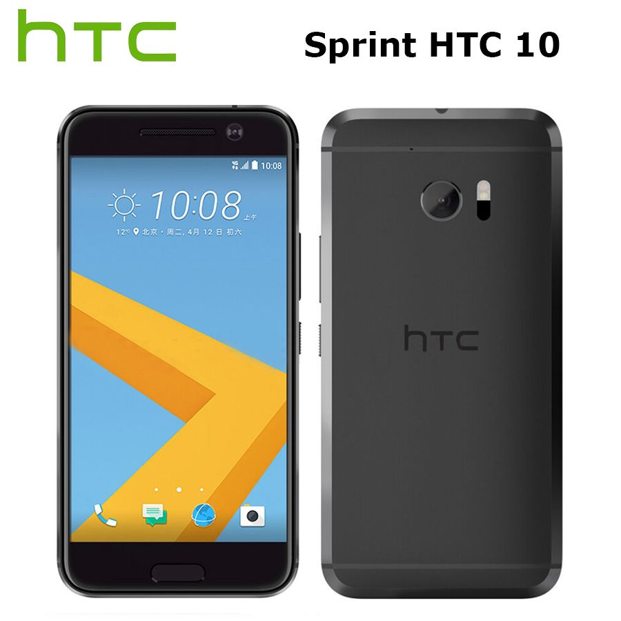 Sprint Version HTC 10 M10 4G Handy 5,2 zoll 2560x1440 p 4 GB RAM 32 GB ROM Quad Core 12MP NFC Fingerprint Android Rindcallphone