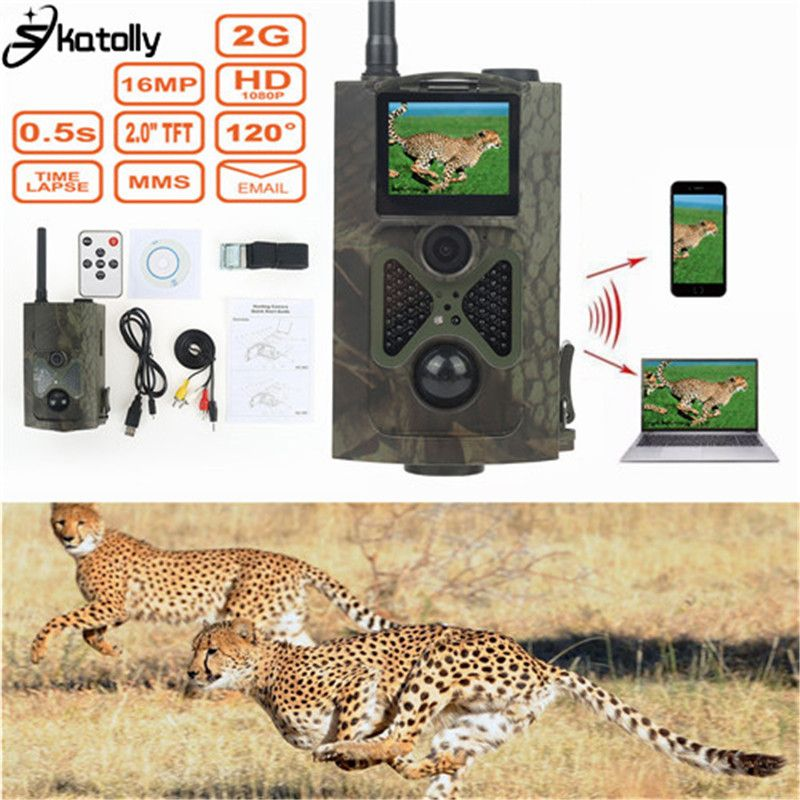Skatolly HC-500M 940nm IR Trail Jagd Digitale Kameras HD12MP 1080 P MMS GPRS Nachtsicht Wildlife Scouting Hunter Trail Cam