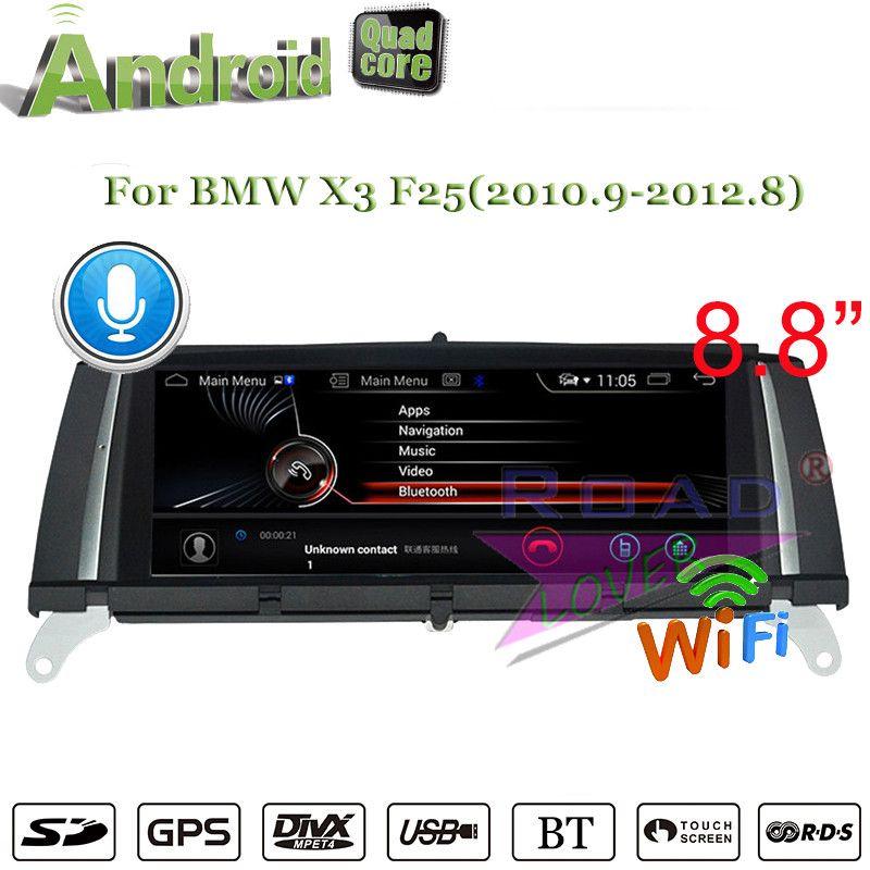Roadlover Android 7.1 Auto Autoradio-Player Für BMW X3 F25 (2010,9 2011 2012,8) stereo GPS Navigation Magnitol Doppel Din KEINE DVD
