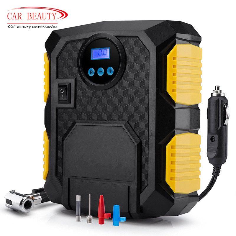 Digital Tire Inflator DC 12 Volt Car Portable Air Compressor <font><b>Pump</b></font> 150 PSI Car Air Compressor for Car Motorcycles Bicycles