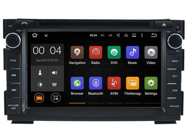 Android 7.1 Auto Dvd Navi Player FÜR KIA CEED (2010-2012)/VENGA audio multimedia auto stereo unterstützung DVR WIFI TUPFEN OBD alle in einem