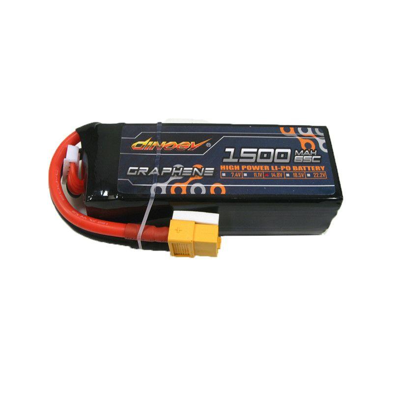 RIESEN LEISTUNG DINOGY 14,8 v 1500 mah 65C 4 s Graphene Wiederaufladbare Lipo Batterie Mit XT60 Stecker Für RC Drone FPV Racing Multi Rotor