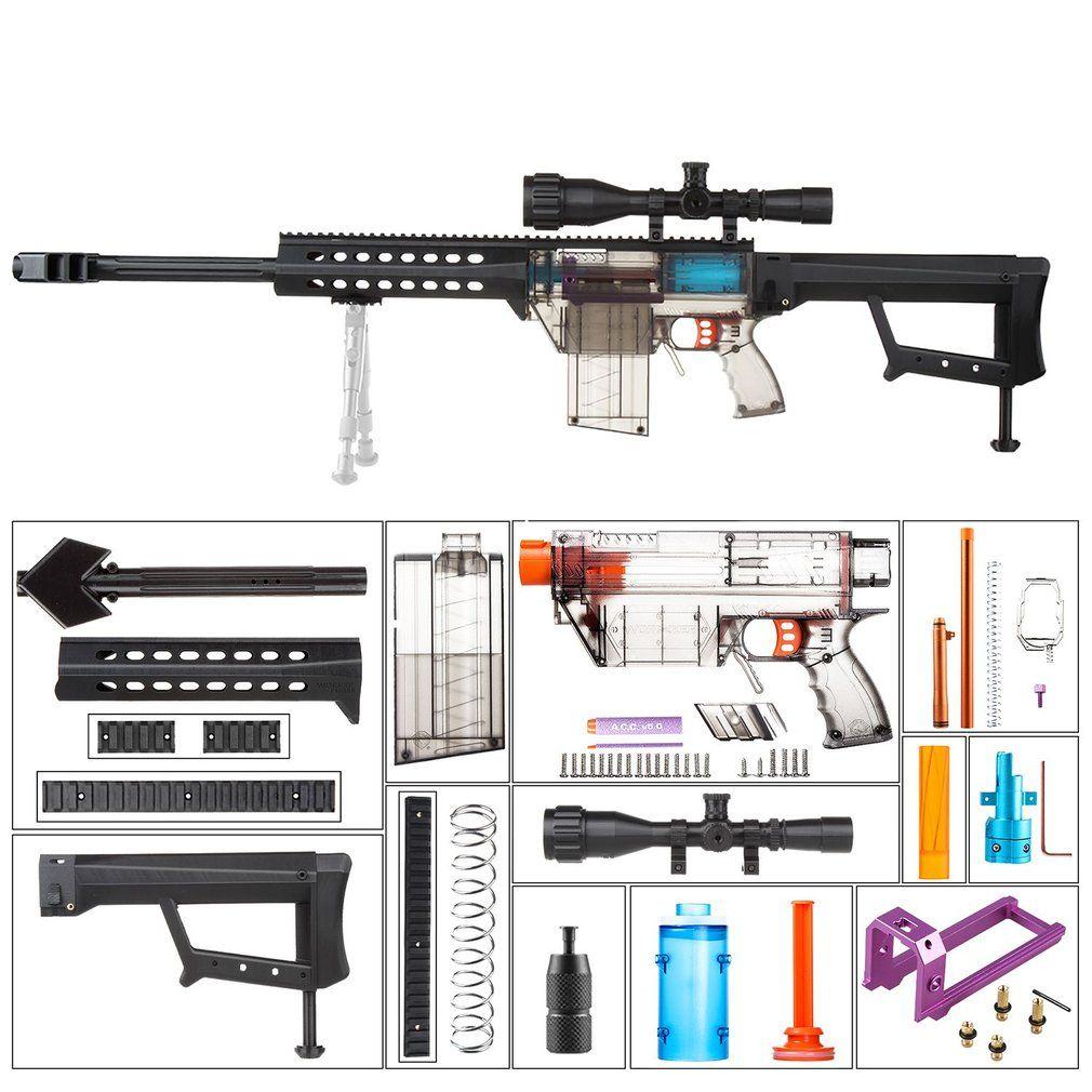 ARBEITER Voll Auto Kit DIY Spielzeug Pistole Zubehör für Nerf Stryfe Geändert Set YYR-001-024 Spielzeug Pistole Zubehör Weihnachten Geschenk für kinder